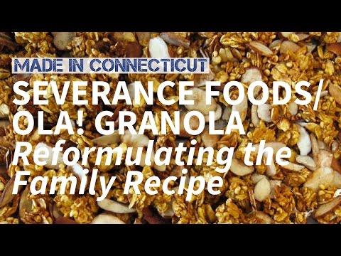 MADE IN CONNECTICUT // Serverance Foods - Ola! Granola