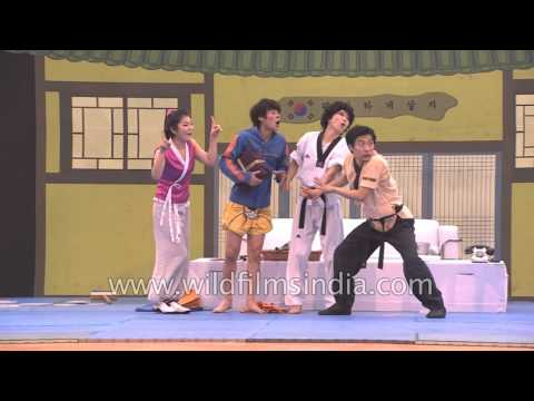 Martial arts comic performers JUMP from Korea- full video