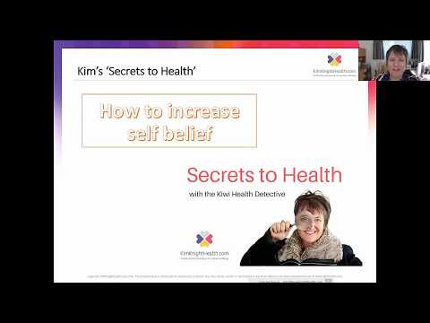 Kim Knight - How to increase Self Belief