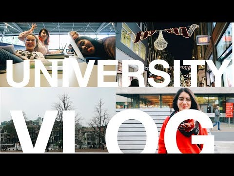 Uni/College Vlog: A Week in My Life (Mid Terms, Current Jams, Amsterdam Tropical Museum)