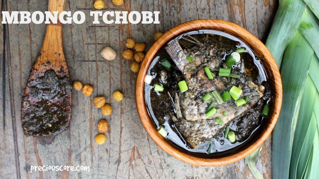 Mbongo Tchobi - Cameroonian Spicy Black Stew - Precious Kitchen - Ep 12