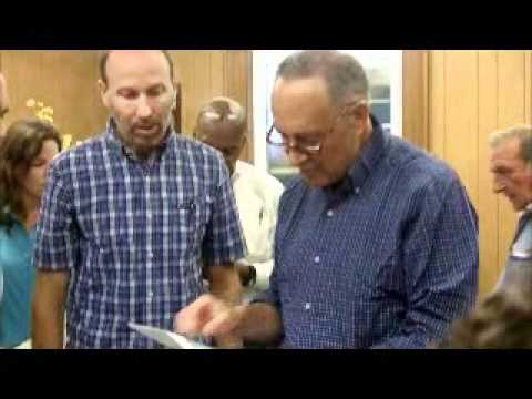 Senator Schumer & FEMA visit Philipstown