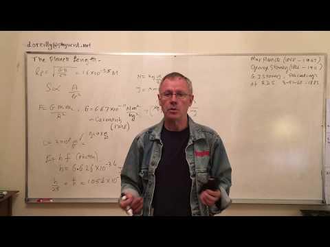 The Planck Length; derivation