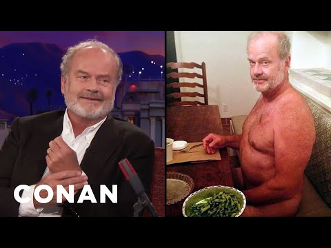 Why Kelsey Grammer Is Nude In This Photo  - CONAN on TBS