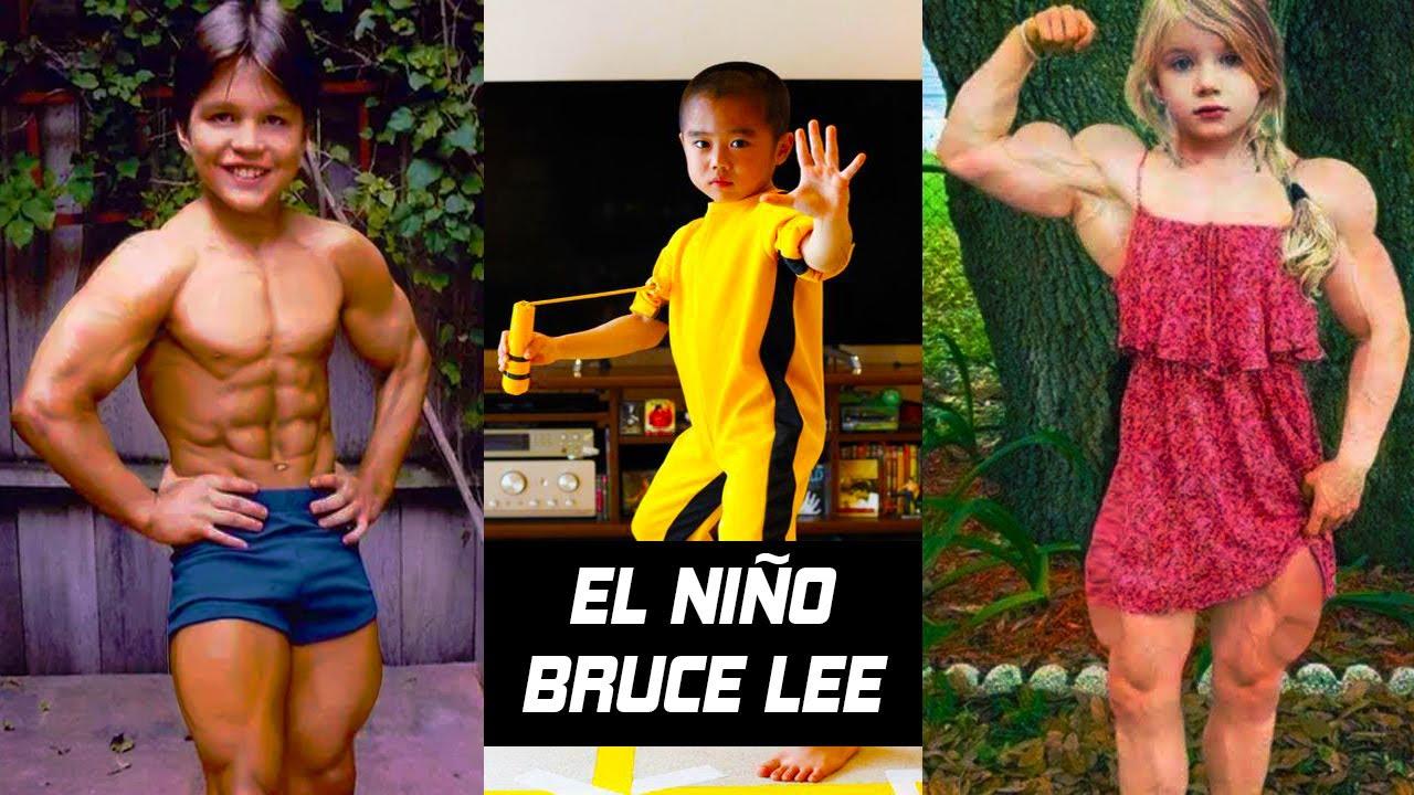 Los 7 Niños Mas Fuertes Del Mundo El Niño Bruce Lee Youtube