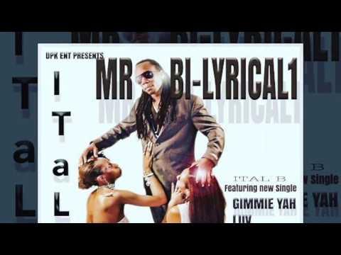 MR. BI-LYRICAL 1 EP / ITAL B / WNSR NEW SHIT RADIO ARTIST
