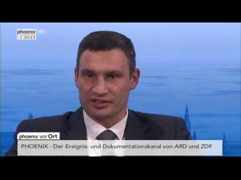 Sicherheitskonferenz - Rede von Vitali Klitschko am 01.02.2014