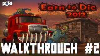 Red Canyon! Earn to Die 2012 Walkthrough, part 02