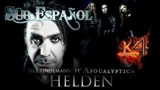 Helden - Apocalyptica Ft' Till Lindemann - [Sub Español]