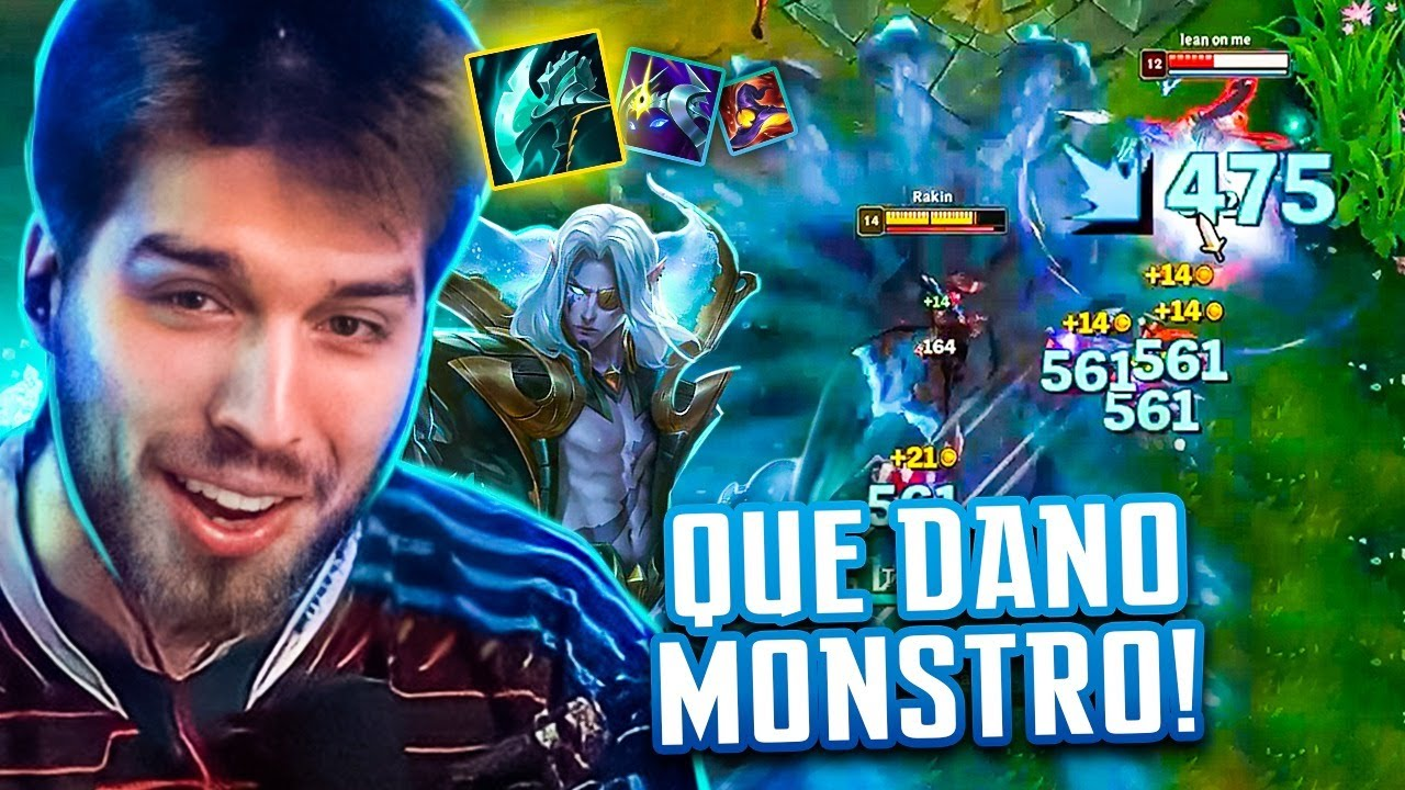 Download O DANO DESSE VLADIMIR É SURREAL! SOLOQ MID DIAMANTE! - RAKIN