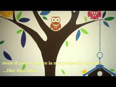 Nursery Wall Decals by Artollo - Kids Room Wall Stickers - Children Room Vinyl Decals