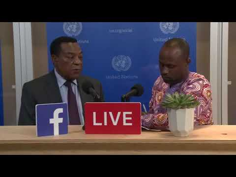Voice of the Minister of Foreign Affairs and East Africa Corporation from Tanzania, Dr. A Mahiga