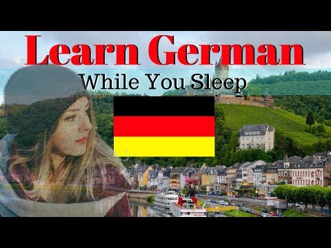 Learn German While You Sleep 😀 130 Basic German Words and Ph