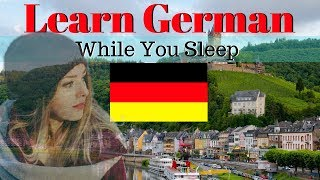 Learn German While You Sleep 😀 130 Basic German Words and Phrases 🍻 English/German