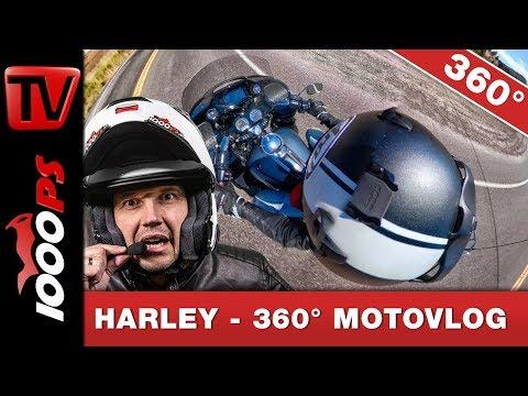 360 Grad Harley-Davidson Road Glide Limited 2020 - Die neuen Elektronikfeatures im MotoVlog