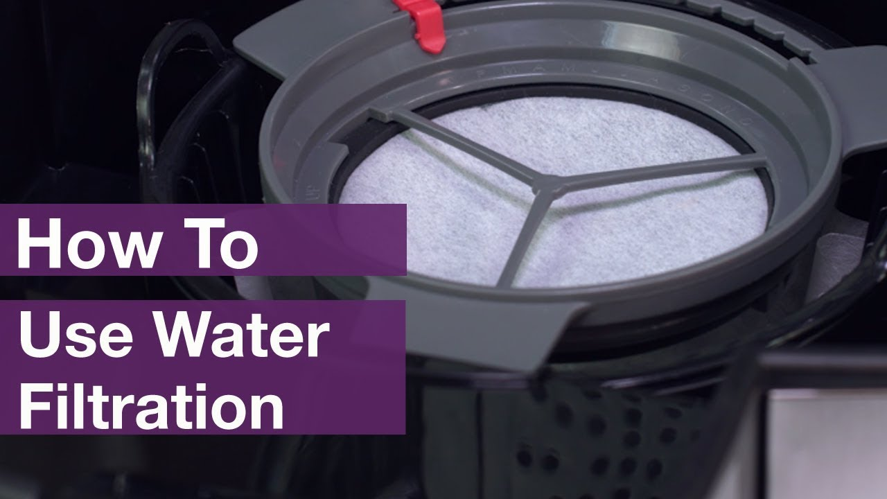 How To Use Mrcoffee Water Filtration