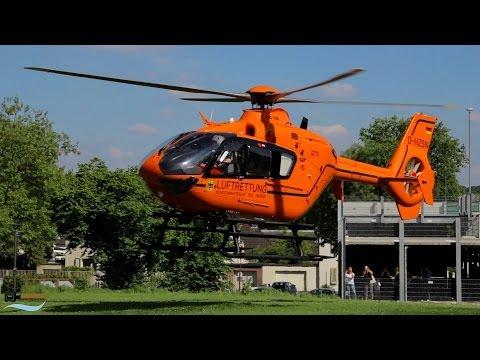 Hubschrauber Start in Wuppertal