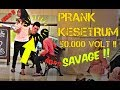 KESETRUM 50.000 VOLT !! GILA BIKIN HEBOH ORANG - PRANK INDONESIA