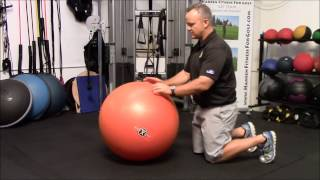 GolfZing Fit Tip: Stability Ball Exercise for Your Golf Game