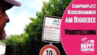 Campingplatz Kessenhammer am Biggesee bei Olpe in NRW | Happy Camping
