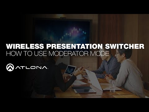 Watch This Instructional Demonstration To See How Easy You Can Enable And Use Moderator Mode On The Sw 510w