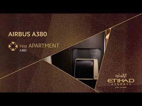 Dannii Minogue Explores the First Class Apartment - Airbus A380 - Etihad Airways