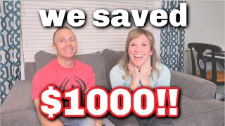 YOUTUBE & AMAZON SAVED ME $1000 | LIVING ON A BUDGET WITH FRUGAL FIT MOM
