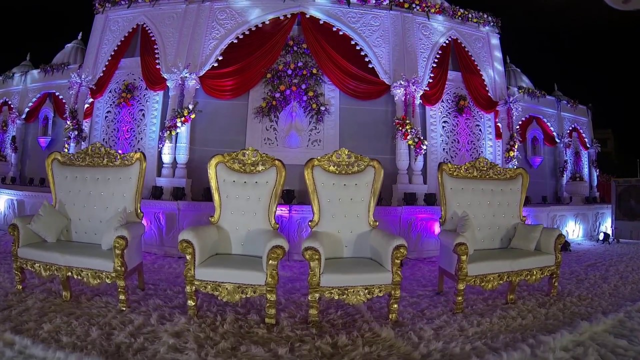 Marriage Reception In Virar West Wedding Decorations By Siraj