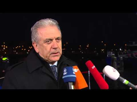 #JHA Justice and Home Affairs informal meeting: Dimitris Avramopoulos
