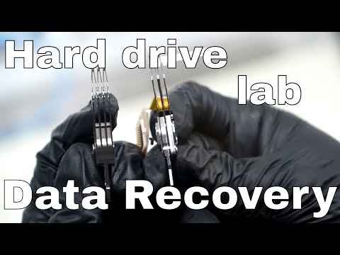 Data Recovery: Hard Drive Platter Swap in Our Lab!