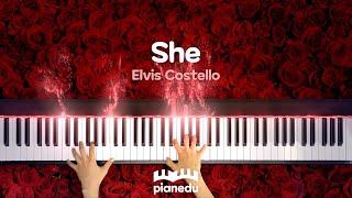 She - Elvis Costello #울산피아노레슨