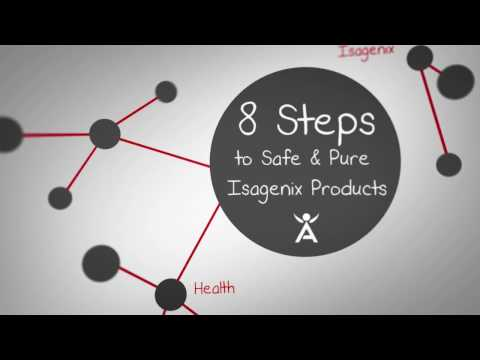 Science Behind: 8 Steps to Safe & Pure Isagenix Health Products