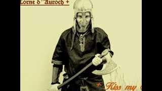 """Auroch Horn """"Kiss my Axe""""  ( Corne d"""