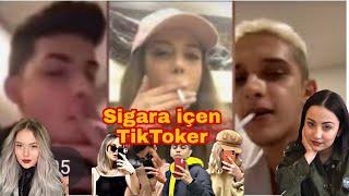 Sigara içen tiktokcular 😳Cellat , Buse Korkmaz  , Ceren Yaldiz