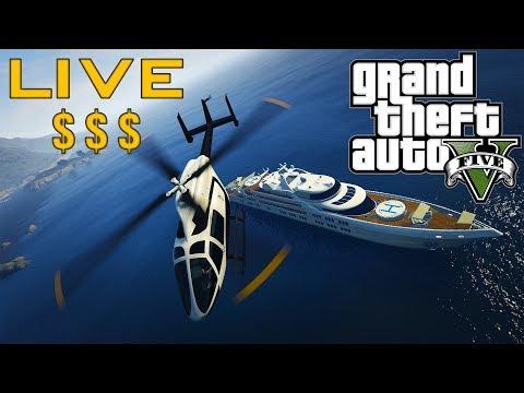 Heist Time! -  GTA V ONLINE  -   LIVE