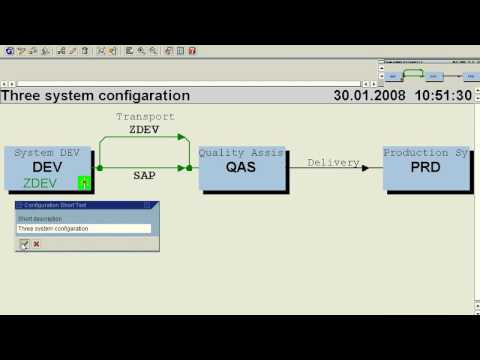 SAP Basis STMS Configuration