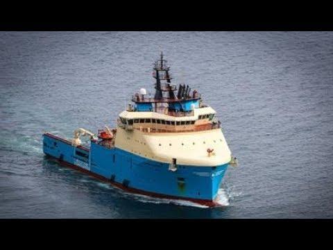 AHTS Vessel Time Lapse