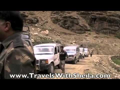 The Backbreaking Ride from Padum to Kargil, Ladakh