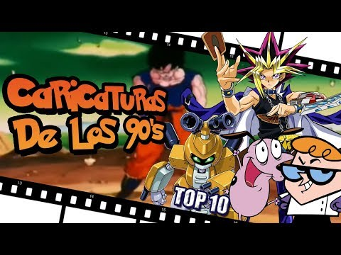 Las 10 MEJORES CARICATURAS DE LOS 90 (Series Animadas)