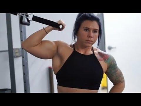 52 years young muscle woman Sandra Ann Cote - Female bodybuildingиз YouTube · Длительность: 1 мин45 с
