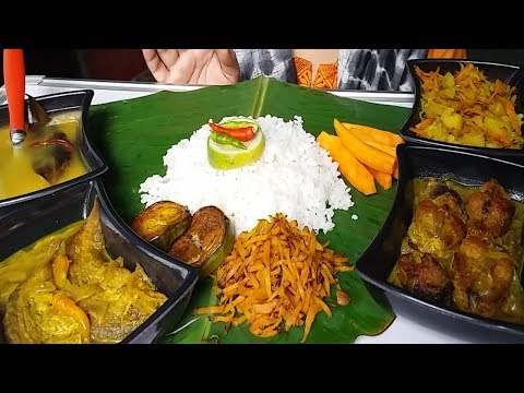 eating yummy and delicious food mukbang show (spicy Indian food)