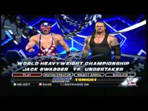 How To Have A Title Match On Smackdown Vs Raw 2011