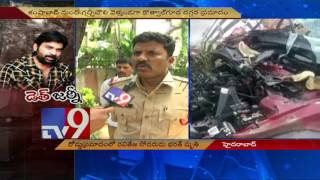Ravi Teja's brother Bharath killed as car hits parked lorry - TV9