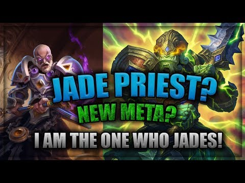 Jade Priest New Meta? 🍀🎲 ~ Knights of the Frozen Throne Expansion ~ Hearthstone