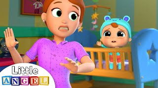Download It's Time to Sleep, Baby John! | Bedtime Routine Song | Little Angel Nursery Rhymes Mp3 and Videos
