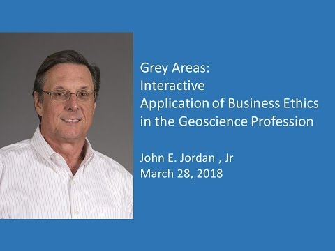 John Jordan- Business Ethics Lecture 2018