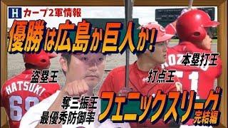 広島カープ 優勝は広島か巨人か!フェニックスリーグ完結編 NPB2019