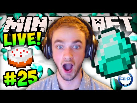 "MINECRAFT (How To Minecraft) - ""DIAMOND HYPE!"" - w/ Ali-A #25"