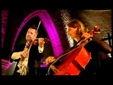 Nigel Kennedy with Juliet Welchman - Bach - Inventions on Violin and Cello.wmv