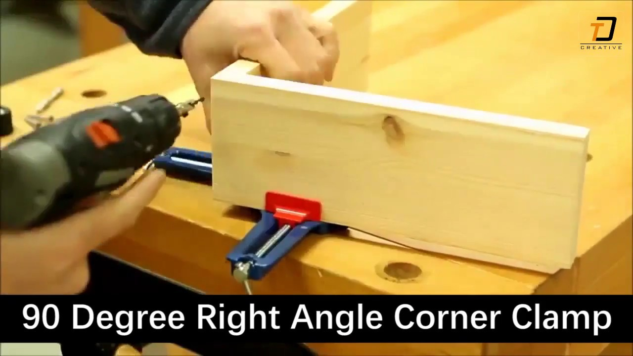 90 Degree Right Angle Clamp Diy Project Youtube